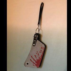 Kreepsville 666 Cleaver clutch wrist strap